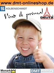 DMT-Haren Ihr Ersatzteilspezialist für DEUTZ, Kolbenschmidt und Monark